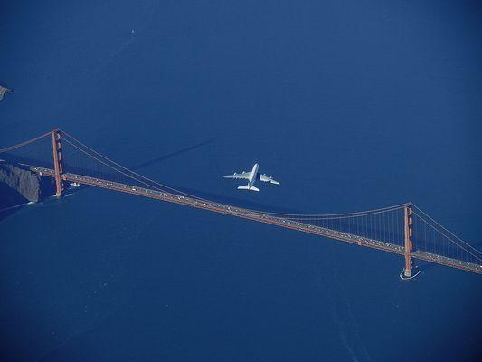 """"""" 75 Jahre """" -  Golden Gate Bridge"""