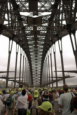 75-Jahrfeier Sydney Harbour Bridge 18.03.2007