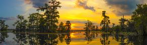 The Yellow Sunset Of Louisiana von OrcaKimo