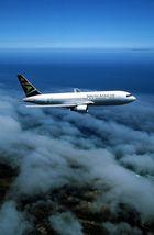 767 in den Wolken