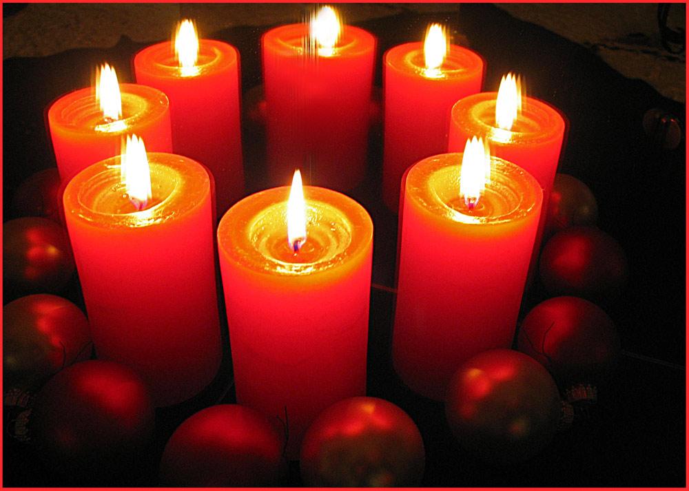 8. Advent ! Weihnachten ver ...