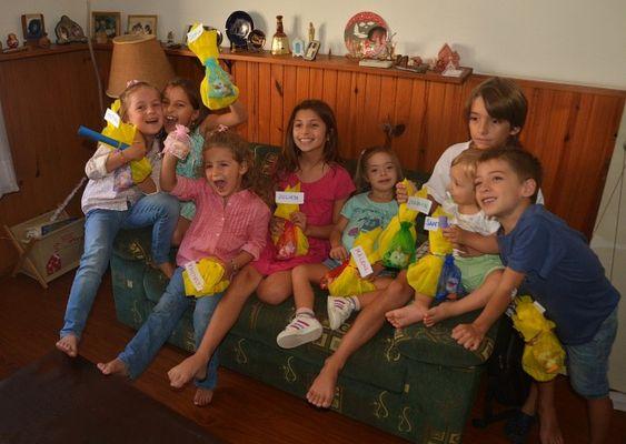 8 piccoli pazzi.......