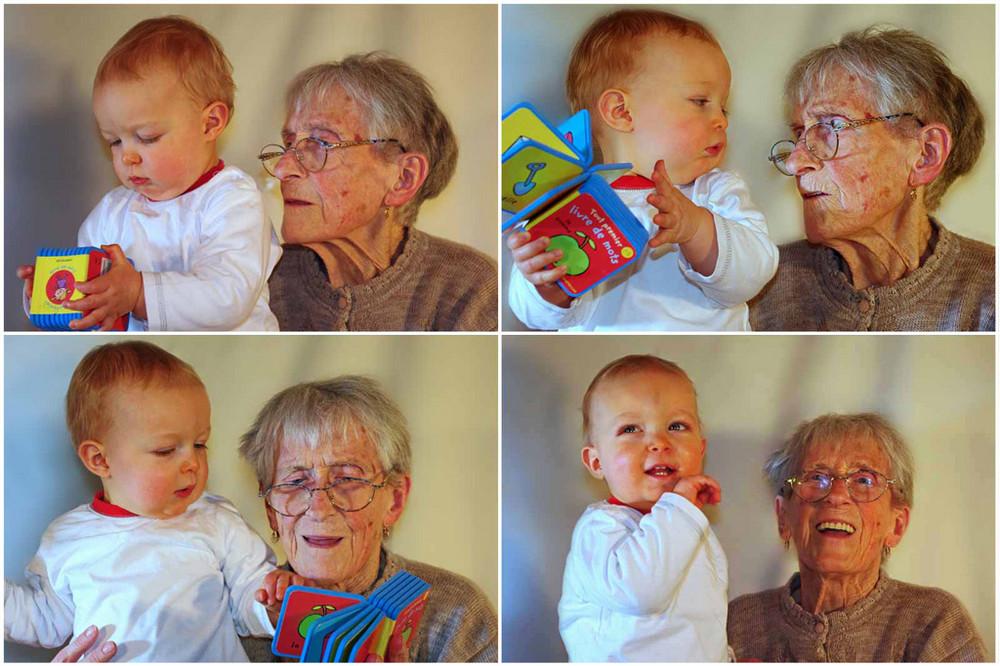 82 ans les séparent...