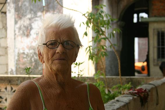 82-jährige in Matanzas/Kuba