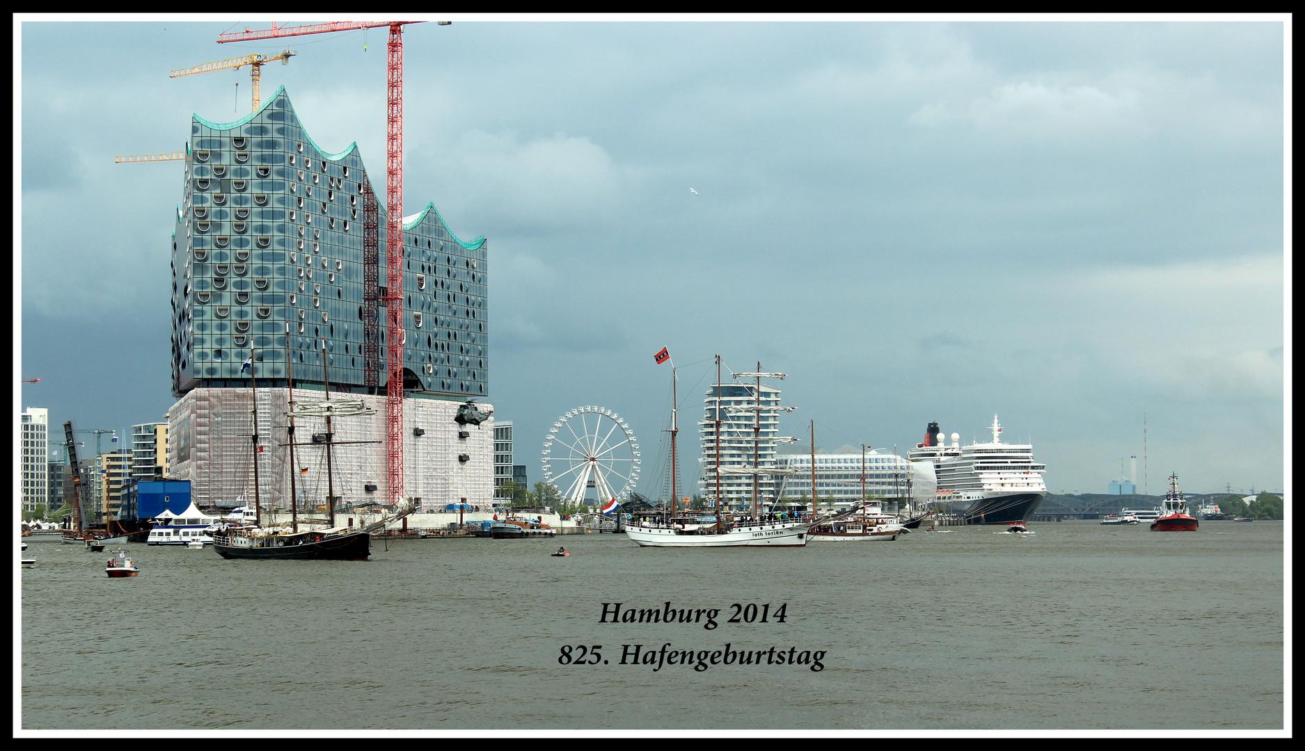 825 Jahre Hamburger Hafen