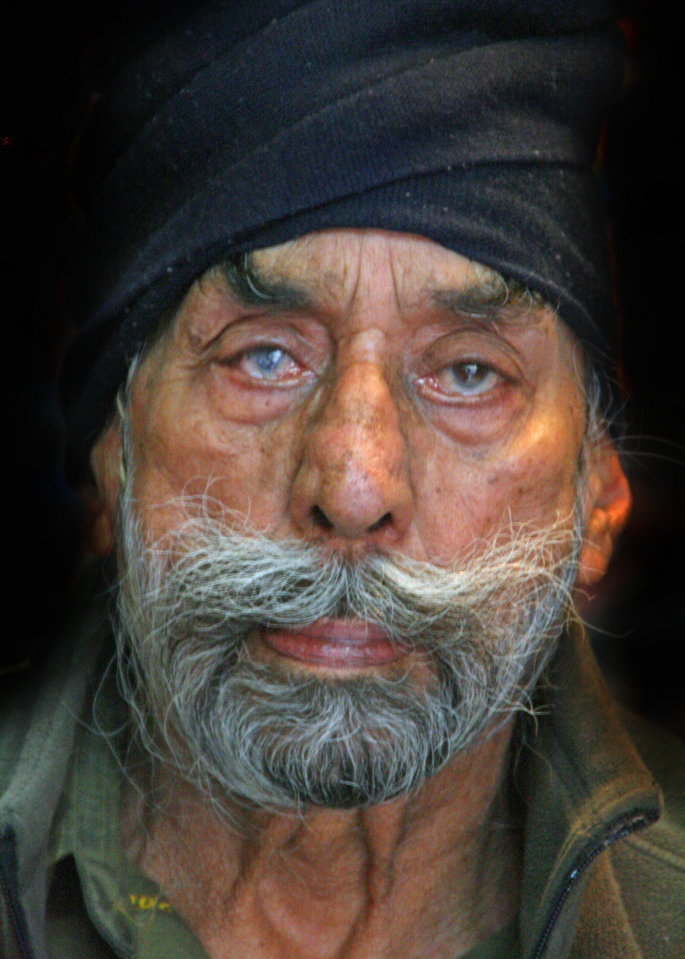 85 years old Sikh