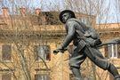 Il monumento al Bersagliere a Porta Pia von Fausto Vacca FILLO