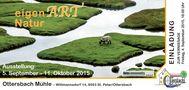 Einladung EigenART-Natur in der Ottersbachmühle von Johannes Ekart