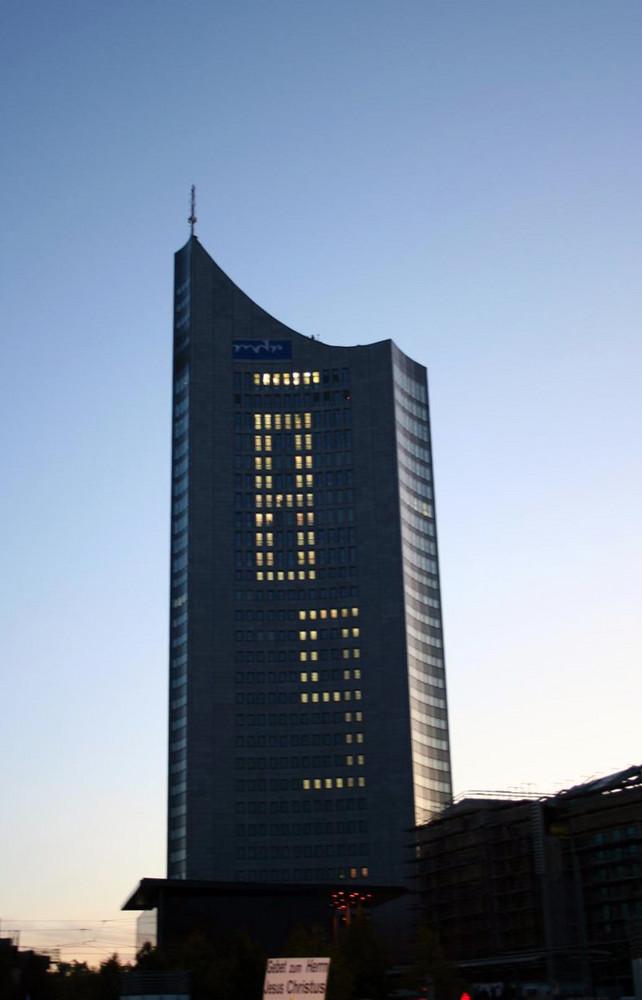 9. Oktober 2009, Lichtfest Leipzig