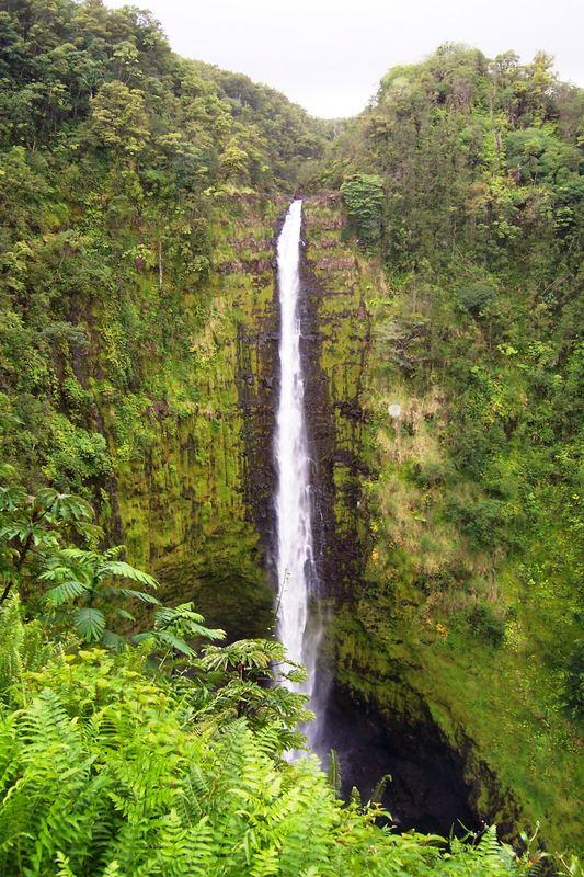 900 Ft Waterfall, Kona, Hawaii