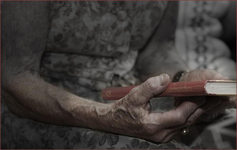 91 Jahre sind diese Hände alt...