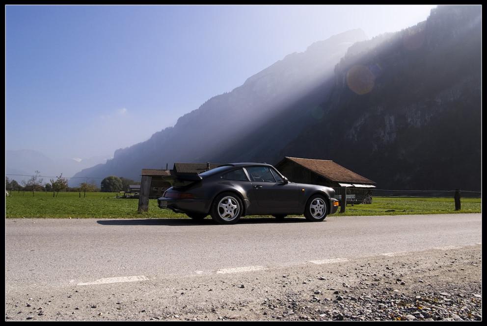 911 964 Turbo - erleuchtet