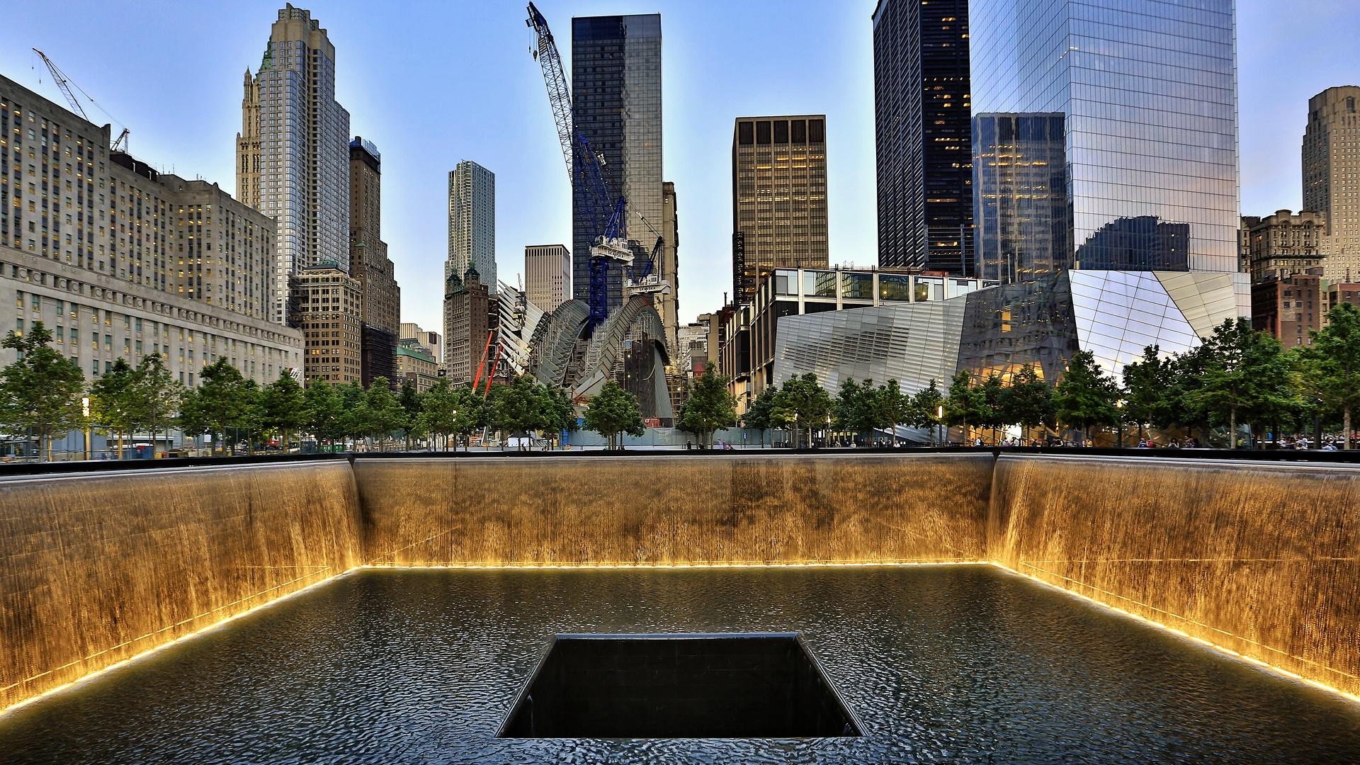 911 Memorial in New York City (Manhattan)