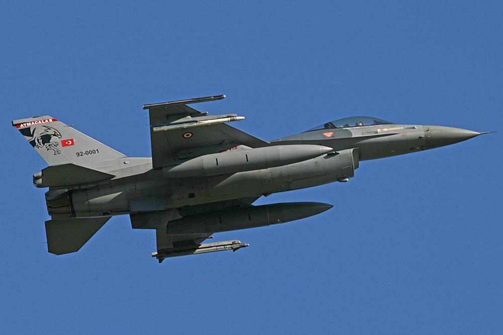 92-0001 - Turkey - Air Force