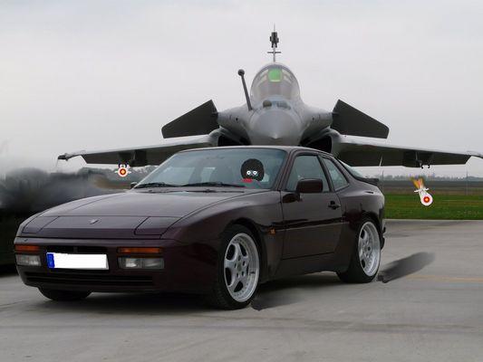 944 Turbo vs rafale ...oouch!