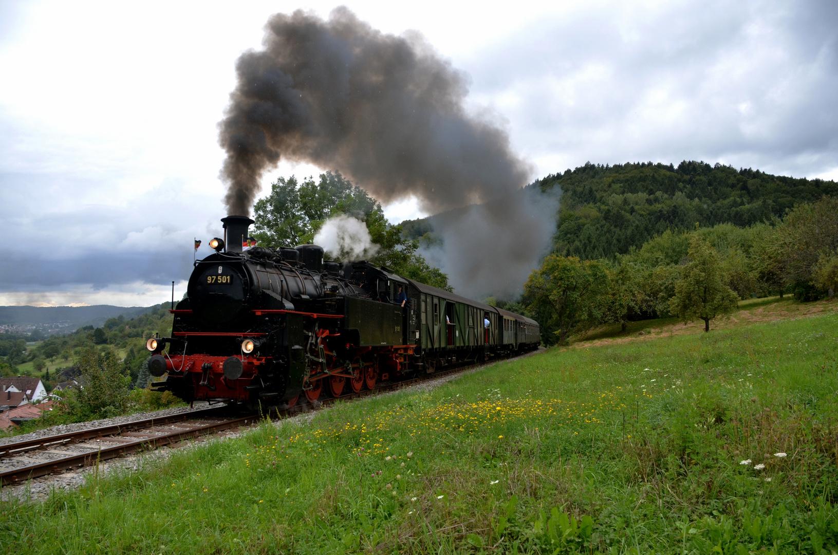97 501 auf dem Weg nach Welzheim III