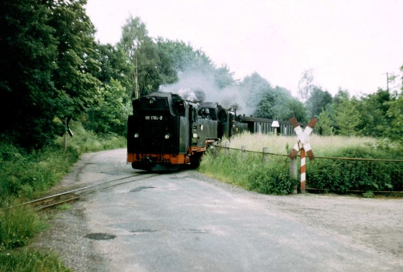 99 1784-0 Weißeritztalbahn Doppelpack 1982