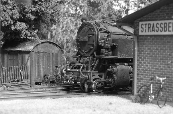 99 222 im Bf. Straßberg