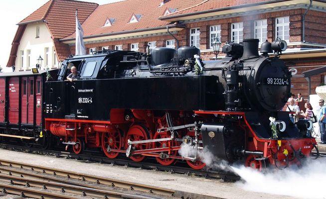 99 2324-4 am 11.07.2009 in Kühlungsborn