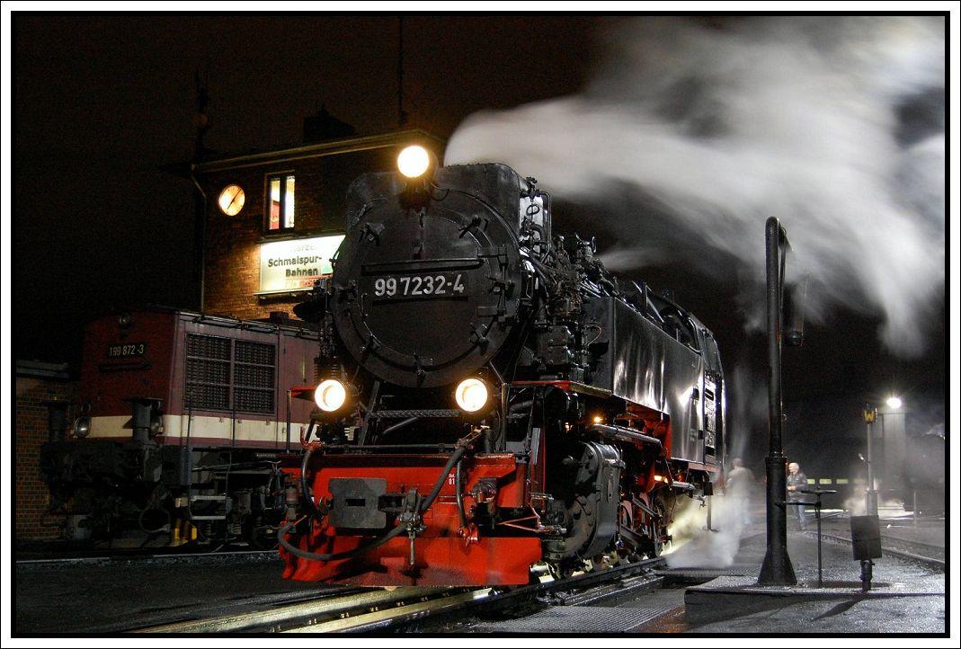 99 7232-4 in der Einsatzstelle Wernigerode