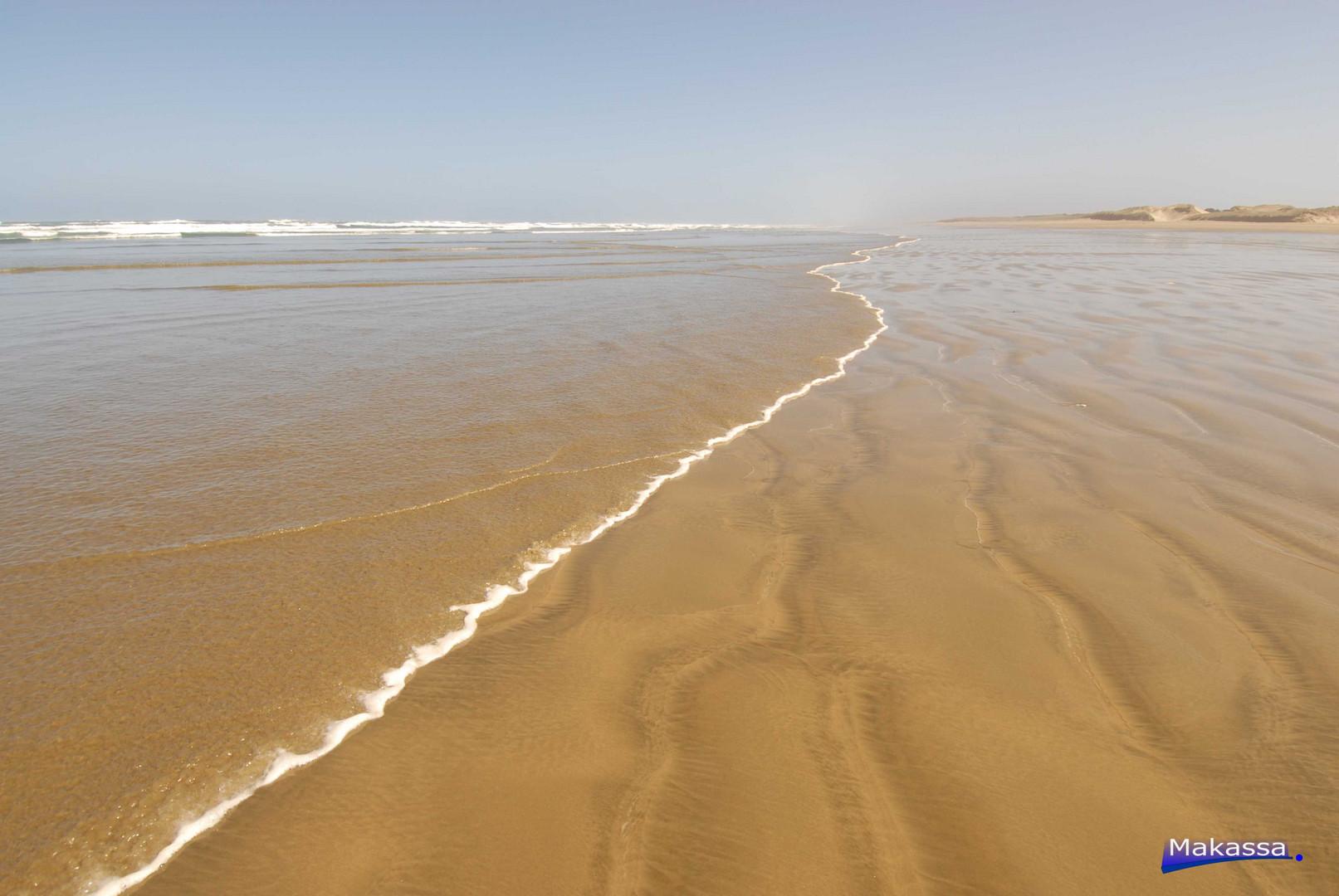 99 Mile Beach NZ - Endless 160 Km Sandstrand