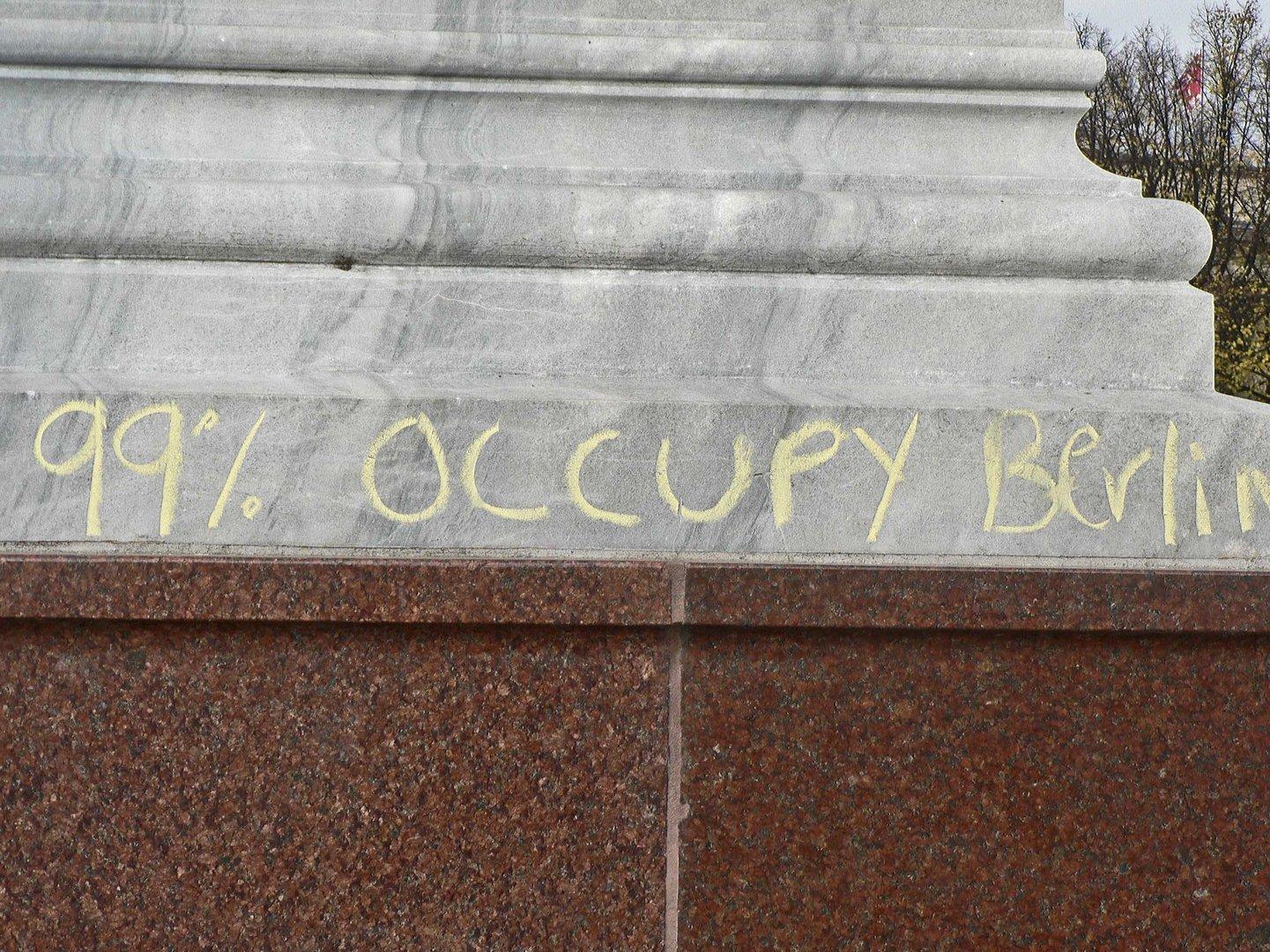 99 % Occupy Berlin ?