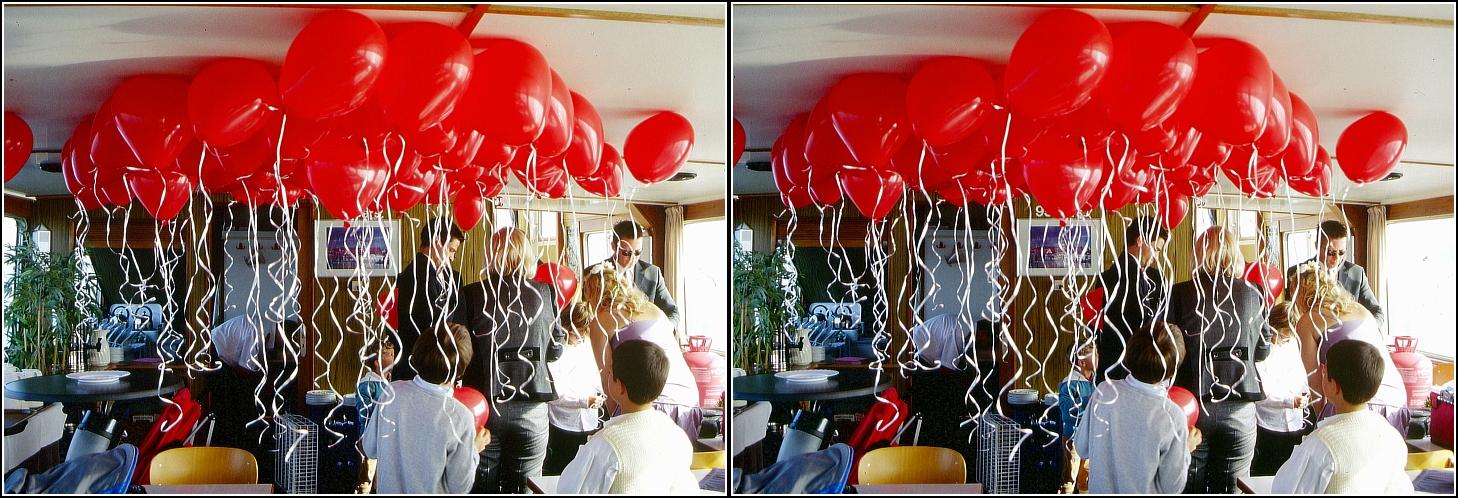 99 rote Luftballons