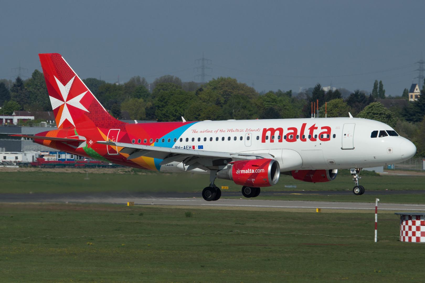9H-AEH - Airbus A319-112 - Air Malta