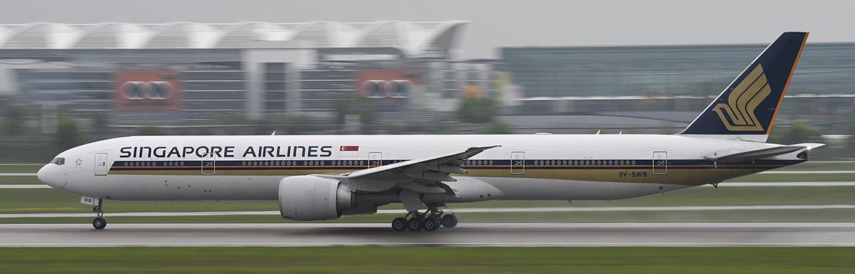 9V-SWB - Singapore Airlines - Boeing 777