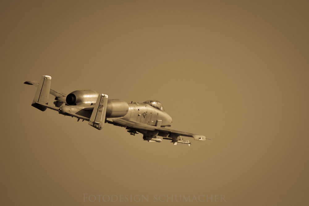 A-10 Thunderbolt II Spangdahlem AFB
