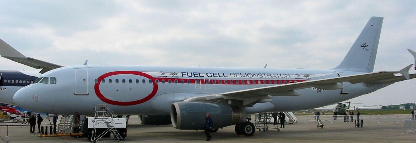 "A 320 ""Fuel Cell Demonstrator"" der DLR"