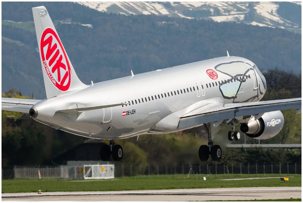A 322, Fly Niki