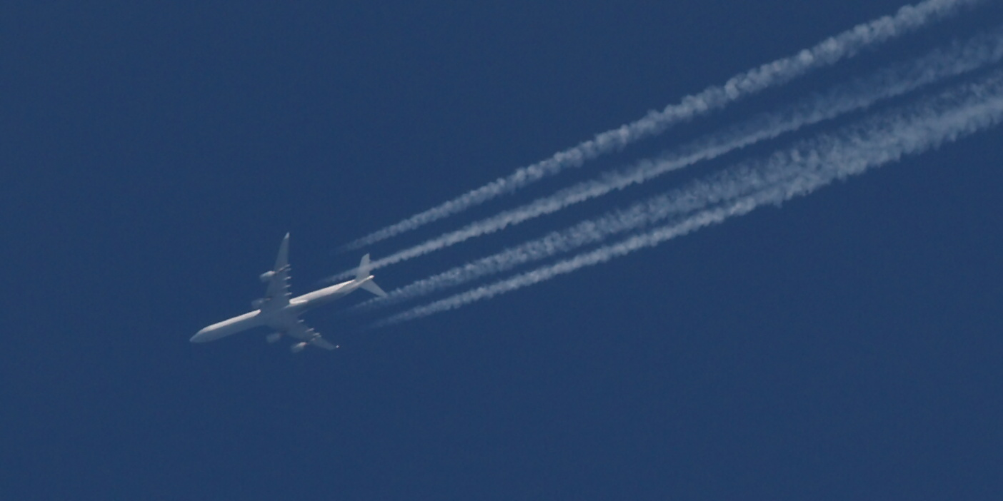 A 340-642x - over the Czech Republic