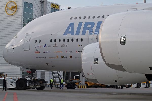 A 380 in München I