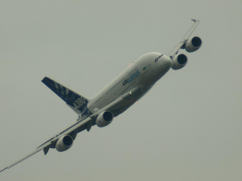 A 380 von Airbus, Kennung F - WWDD