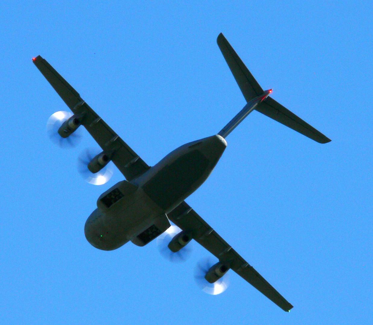 A- 400 im Flug