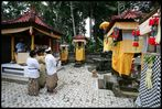 A Balinese ceremony, called upacara