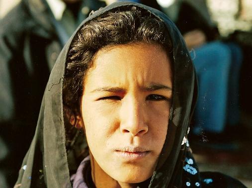 a Beduin Girl