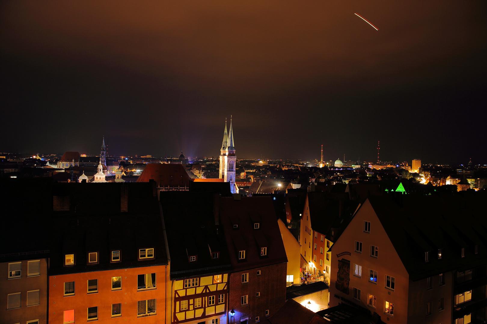 A blue night over Nuremberg