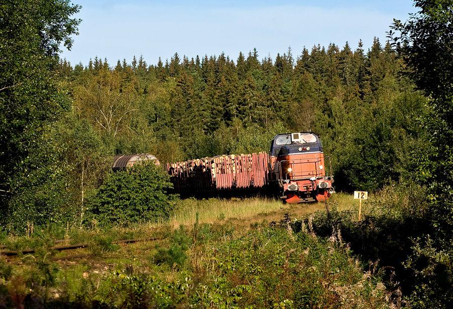 """A branchline in the """"Småländska höglande""""..."""