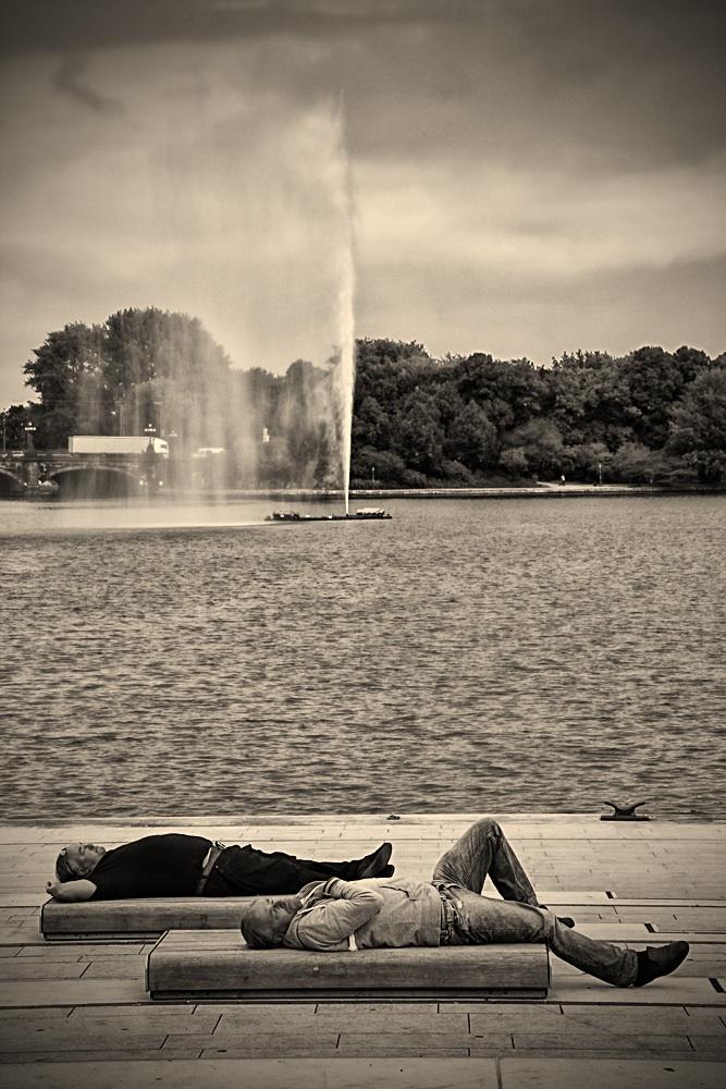 a break in Hamburg