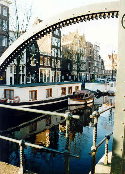 A bridge in Amsterdam