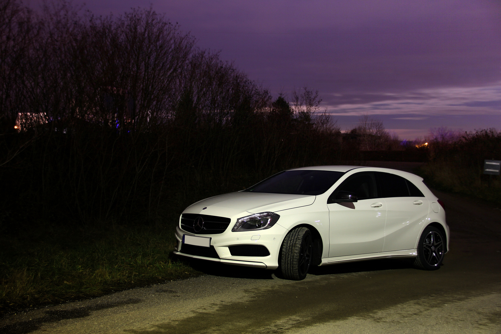 A-Class at Night