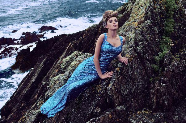 A cliff mermaid