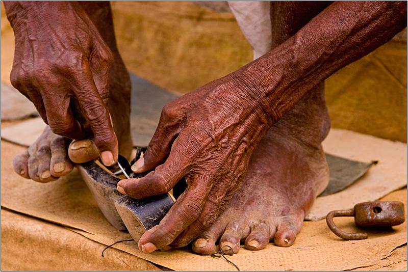 a cobbler in Malavalli