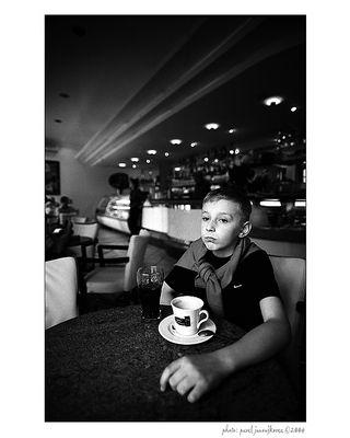 ... a coffee drinker ...