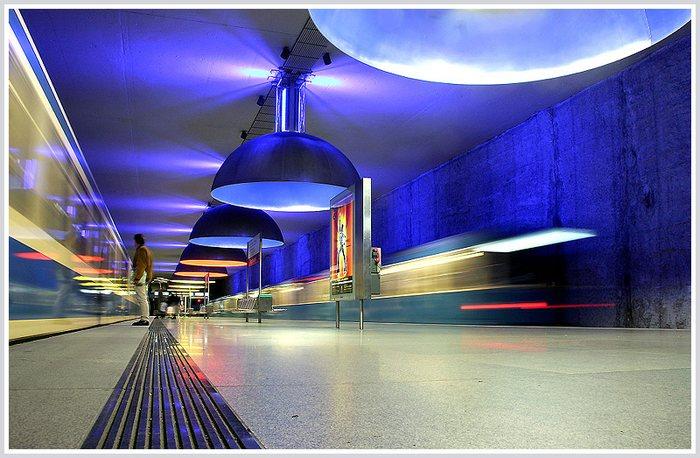 a coloured underground