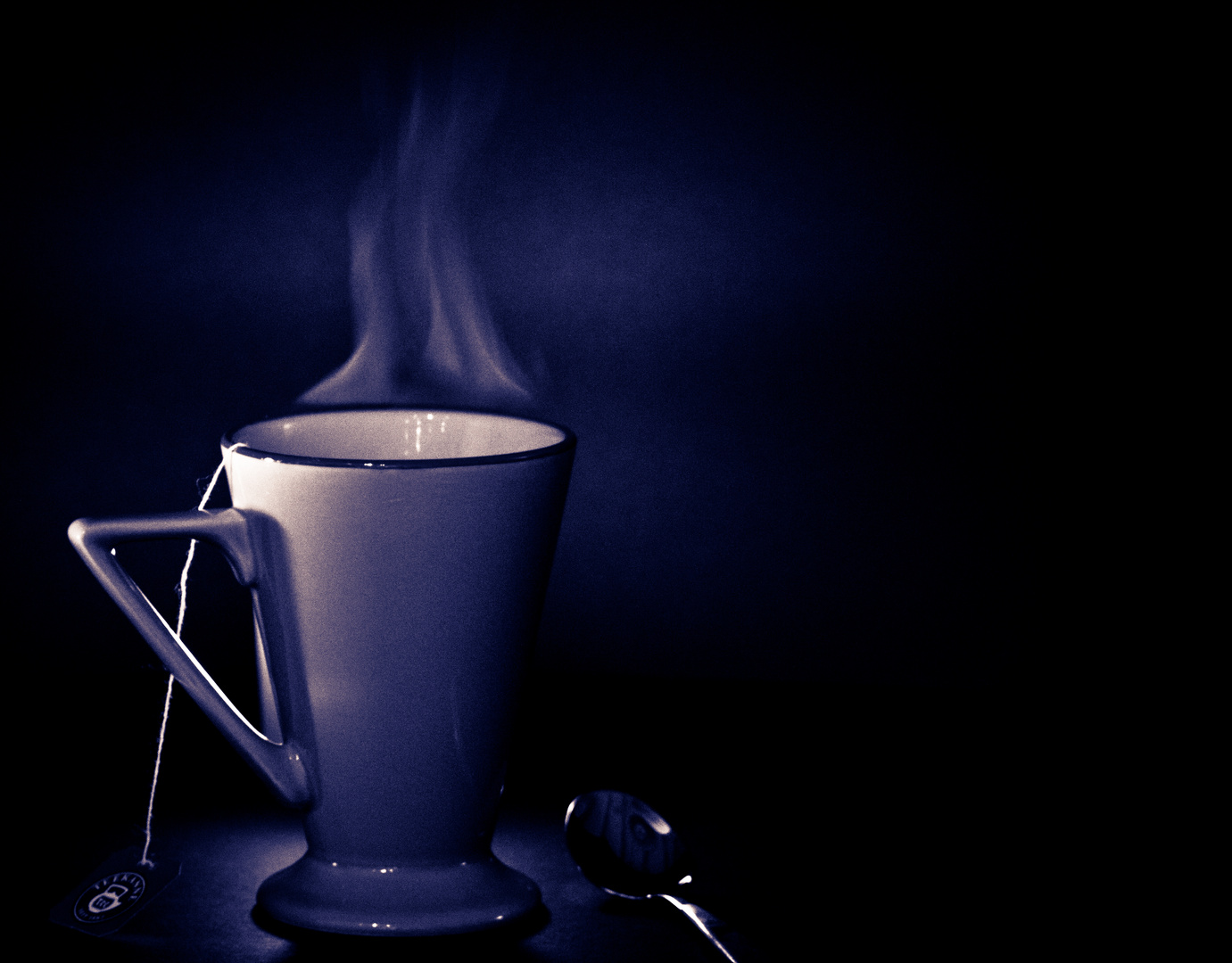 A cup of tea ... is mine