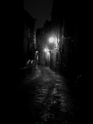 A dark place