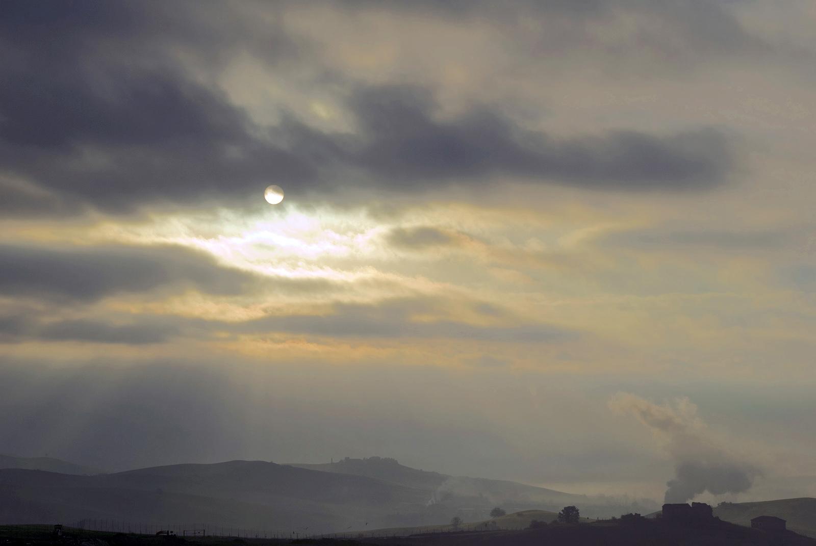 A dawn in Tuscany